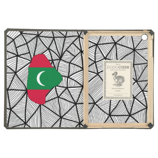 For Kids: Creative Maldives Flag With Map iPad Air Covers