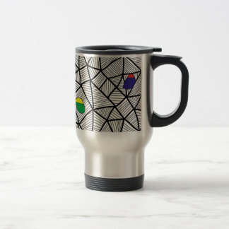 For Kids: Creative Mauritius Flag With Map Travel Mug