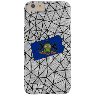 For Kids: Creative Pennsylvania Flag With Map Barely There iPhone 6 Plus Case