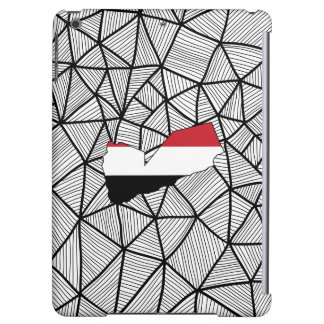 For Kids: Creative Yemen Flag With Map Case For iPad Air
