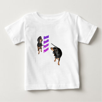 For Kids Only: Dental Health Puppy Baby T-Shirt