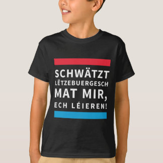 For kids who Learn Luxembourgish T-Shirt