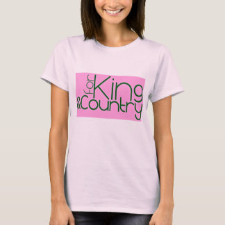 For King and country babydoll tee