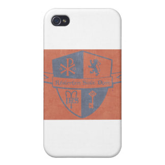For King and Country Red Logo Cases For iPhone 4