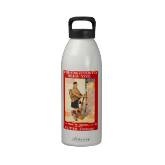For King and County Reusable Water Bottles