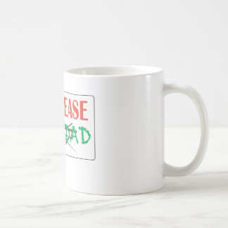 FOR LEASE NAVIDAD CLASSIC WHITE COFFEE MUG