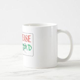 FOR LEASE NAVIDAD COFFEE MUG