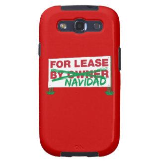 For Lease Navidad - Feliz Navidad Funny Christmas Samsung Galaxy S3 Covers