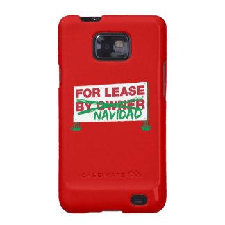 For Lease Navidad - Feliz Navidad Funny Christmas Samsung Galaxy S2 Cases