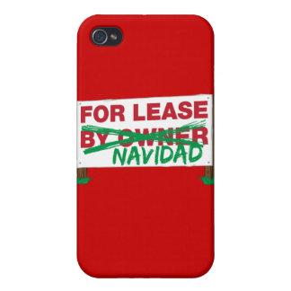 For Lease Navidad - Feliz Navidad Funny Christmas Cases For iPhone 4