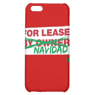 For Lease Navidad - Feliz Navidad Funny Christmas iPhone 5C Cases