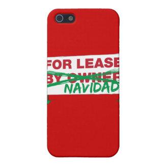 For Lease Navidad - Feliz Navidad Funny Christmas iPhone 5 Cases