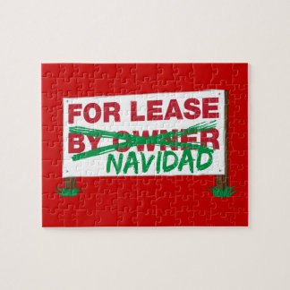 For Lease Navidad - Feliz Navidad Funny Christmas Puzzle