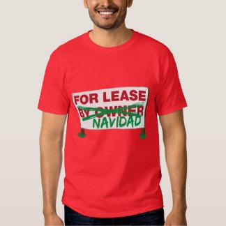 For Lease Navidad - Feliz Navidad Funny Christmas Tshirts