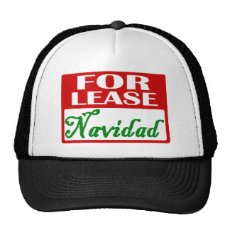For Lease: Navidad hat