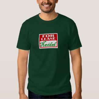 For Lease: Navidad Shirts
