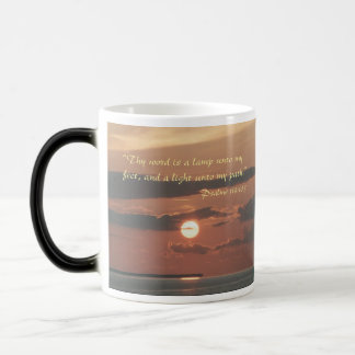 For left handers-Thy word is a lamp to my feet mug