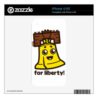 For Liberty Decals For The iPhone 4S