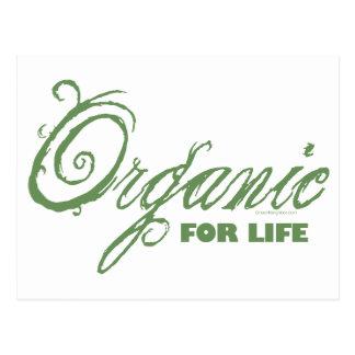 For Life, Organic Postcard