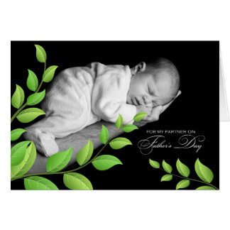 for Life Partner on Father's Day Greeting Cards