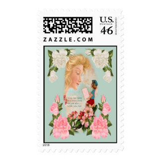 For Loves Dear Postage Stamps