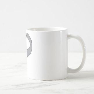 For Me Gray Silver Awareness Ribbon Coffee Mug