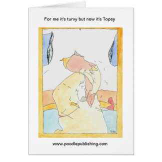 For me it's turvy but now it's Topsy Card