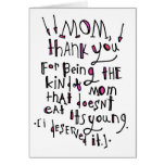 For Mom Card