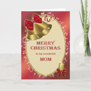 Merry mom christmas cards zazzle for mom traditional christmas card m4hsunfo