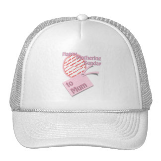 For Mum - Happy Mothering Sunday Trucker Hat