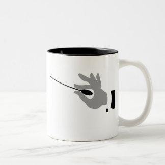 For Music Conductors! Two-Tone Coffee Mug