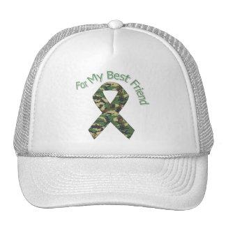 For My Best Friend Military  Ribbon Trucker Hat