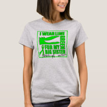 'For my Big Sister' LYMPHOMA Support | Croc Design T-Shirt