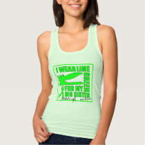 'For my Big Sister' LYMPHOMA Support | Croc Design Tank Top