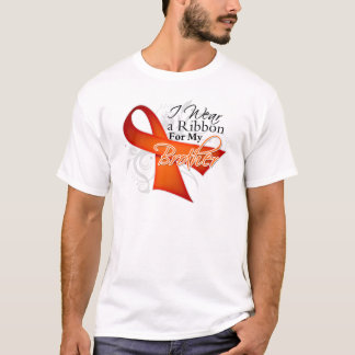 For My Brother - Leukemia Ribbon T-Shirt