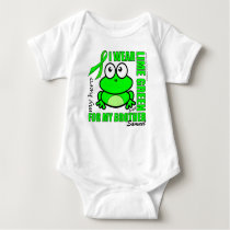 'FOR MY BROTHER' | LYMPHOMA SUPPORT | FROG BABY BODYSUIT