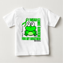 'FOR MY BROTHER' | LYMPHOMA SUPPORT | FROG BABY T-Shirt