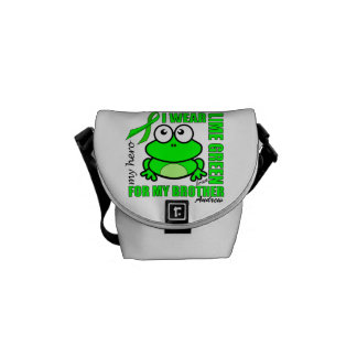'FOR MY BROTHER' | LYMPHOMA SUPPORT | FROG COURIER BAG