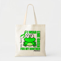 'FOR MY BROTHER' | LYMPHOMA SUPPORT | FROG TOTE BAG