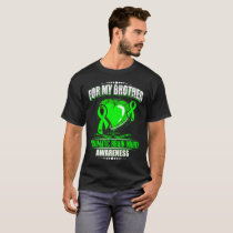 FOR my Brother-Traumatic Brain Injury Awareness T-Shirt