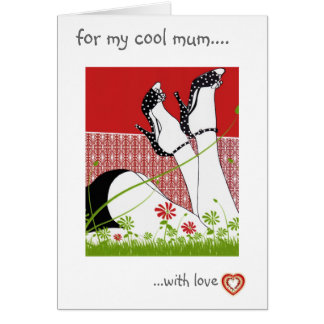 FOR MY COOL MUM  card