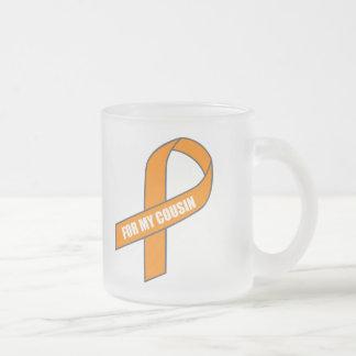 For My Cousin (Orange Ribbon) Coffee Mug