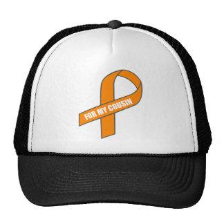 For My Cousin (Orange Ribbon) Trucker Hat