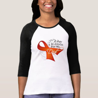 For My Dad - Leukemia Ribbon Tshirts