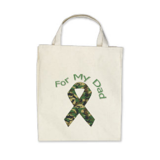 For My Dad Military  Ribbon Bags