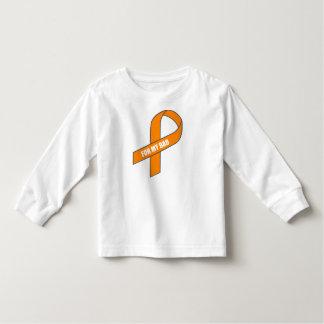 For My Dad (Orange Ribbon) Toddler T-shirt
