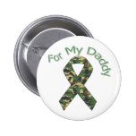 For My Daddy Military  Ribbon Pin