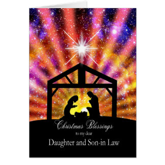 For my daughter and son-in-law,sunset Christmas Card