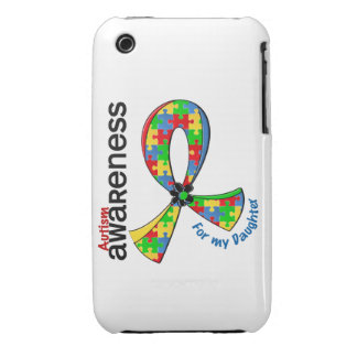 For My Daughter Autism iPhone 3 Case-Mate Cases