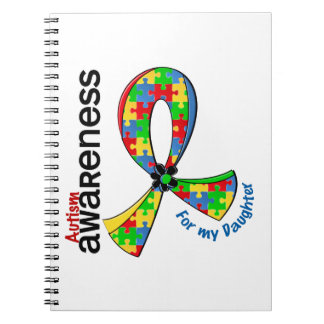 For My Daughter Autism Spiral Note Book